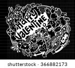 hand drawn vector illustration... | Shutterstock .eps vector #366882173