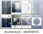 set of business templates for... | Shutterstock .eps vector #366908453