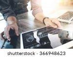 website designer working... | Shutterstock . vector #366948623