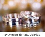 wedding rings | Shutterstock . vector #367035413
