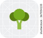 broccoli curd icon | Shutterstock .eps vector #367054133