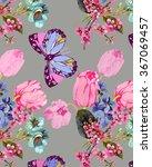 new spring budget pattern | Shutterstock . vector #367069457