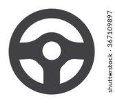 Steering Wheel Icon. Steering...