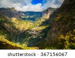 the small town curral das...   Shutterstock . vector #367156067