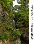 the lake district a waterfall... | Shutterstock . vector #367205663