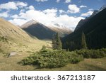 beautiful valley in the... | Shutterstock . vector #367213187