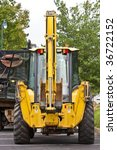 a heavy equipment loader in a... | Shutterstock . vector #36722152