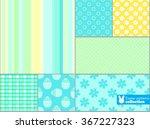 scrapbook design elements ... | Shutterstock .eps vector #367227323