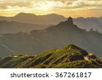 mountains on gran canaria.... | Shutterstock . vector #367261817