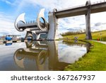 Reflection Of Falkirk Wheel ...