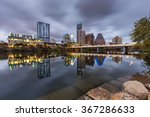 austin downtown skyline by the... | Shutterstock . vector #367286633