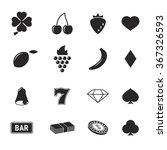 casino icon | Shutterstock .eps vector #367326593