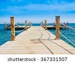 jetty into heaven  | Shutterstock . vector #367331507