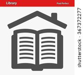 library icon. professional ... | Shutterstock .eps vector #367372277