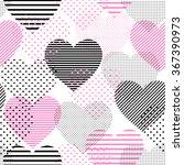 beautiful seamless vector... | Shutterstock .eps vector #367390973