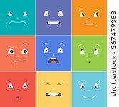 vector creative cartoon style... | Shutterstock .eps vector #367479383