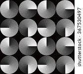 optical illusion seamless... | Shutterstock .eps vector #367530497