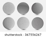 set of halftone sphere.halftone ... | Shutterstock .eps vector #367556267