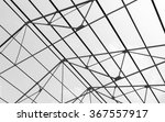 industrial roof structure in... | Shutterstock . vector #367557917