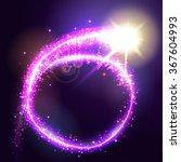 vector illustration of circular ... | Shutterstock .eps vector #367604993