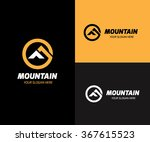 mountain logo vector logo | Shutterstock .eps vector #367615523