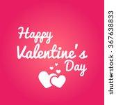 happy valentine's day vector | Shutterstock .eps vector #367638833