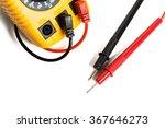 yellow multimeter close up   Shutterstock . vector #367646273