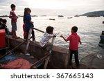 kota kinabalu  borneo  malaysia ... | Shutterstock . vector #367665143