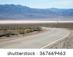 the road through the death... | Shutterstock . vector #367669463