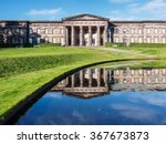 the front of the classical... | Shutterstock . vector #367673873