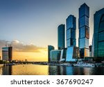 moscow city. russia. | Shutterstock . vector #367690247
