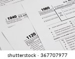 Us Tax Form   Taxation Concept