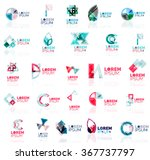collection of colorful abstract ...   Shutterstock .eps vector #367737797