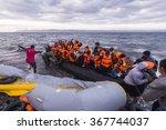 lesvos island  greece   29... | Shutterstock . vector #367744037