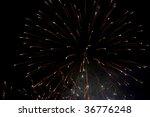 abstract fireworks | Shutterstock . vector #36776248
