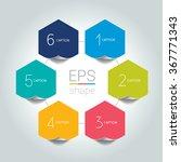 network connected speech...   Shutterstock .eps vector #367771343