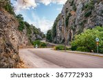 road across of the mountain... | Shutterstock . vector #367772933
