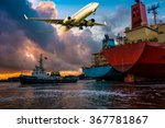 Merchant Cargo Ships Assist By...