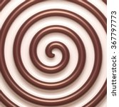 abstract chocolate and cream... | Shutterstock .eps vector #367797773