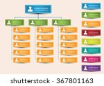 colorful rectangle organization ... | Shutterstock .eps vector #367801163