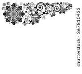 vector vintage floral ...   Shutterstock .eps vector #367810433
