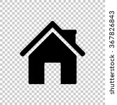 home    black vector icon | Shutterstock .eps vector #367826843