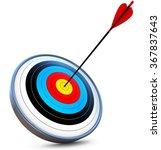target | Shutterstock . vector #367837643