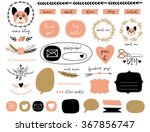 ultimate design elements blog... | Shutterstock .eps vector #367856747
