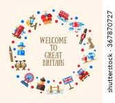 welcome to great britain vector ... | Shutterstock .eps vector #367870727