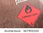 pictogram for chemical hazard ... | Shutterstock . vector #367903103