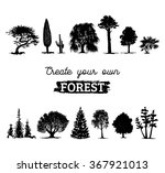 Vector Different Trees...