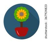 Flower Icon. Flower Icon Vecto...