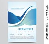 flyer  brochure  poster  annual ... | Shutterstock .eps vector #367955633