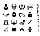 business icons  vector | Shutterstock .eps vector #367976063